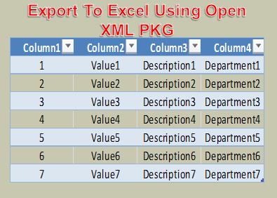 ExportToExcel