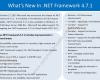 New Release .NET Framework 4.7.1