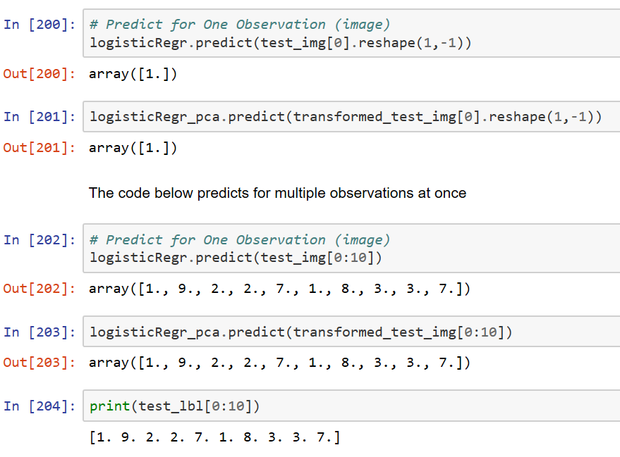 Step by Step Approach to Principal Component Analysis using