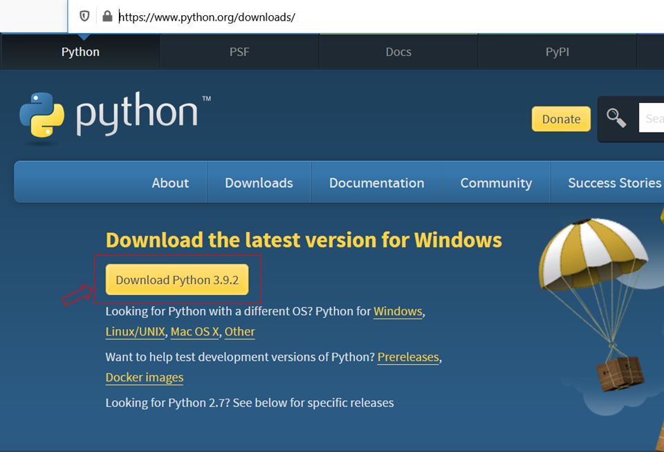 Python download for windows | ashutoshtripathi.com | Data Science Duniya