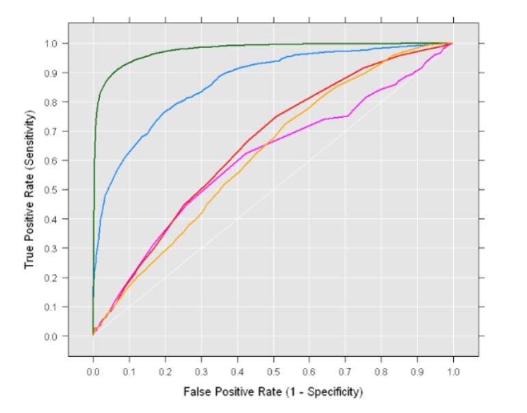ROC AUC Curve